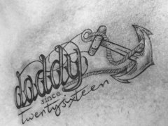 "Familien-Tattoo ""Vaterliebe"""