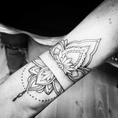 Fineline Mandala Tattoo